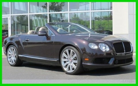 2013 Bentley Continental GT V8 Convertible for sale