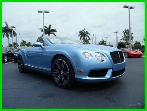2013 Bentley Continental GT V8 for sale