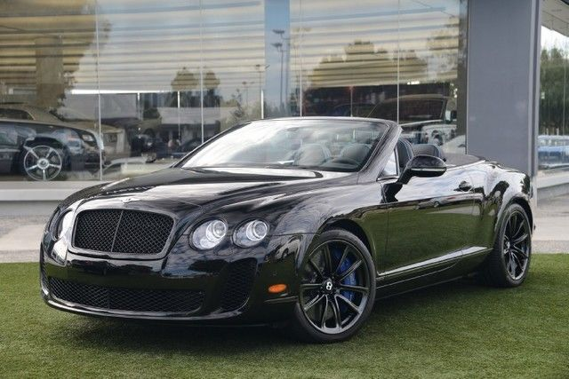 2012 Bentley Continental GT 2dr Convertible for sale