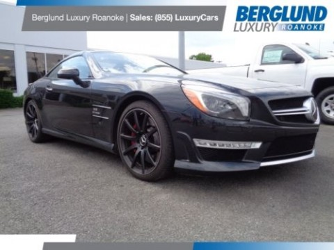2014 Mercedes Benz SL Class SL63 AMG for sale