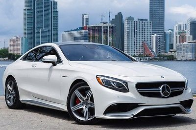 2015 Mercedes Benz S Class S63 AMG® for sale