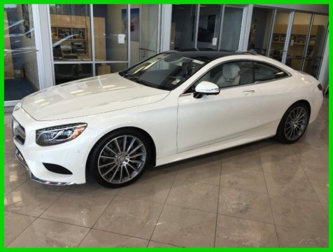 2016 Mercedes Benz S Class 2016 Mercedes Benz S550 Coupe S Class Sport Fast for sale