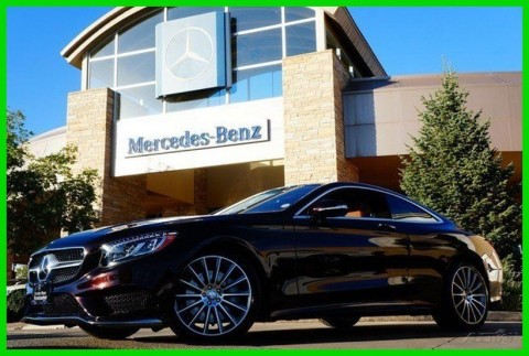 2016 Mercedes Benz S Class Ruby Black Designo Premium Sport AMG Swarovski for sale