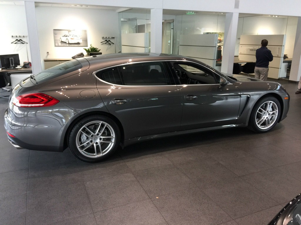 2014 Porsche Panamera 4s Executive Hatchback 4 Door 3 0l