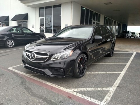2016 Mercedes Benz E63 AMG S Model for sale