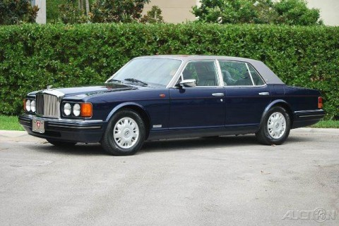 1996 Bentley Brooklands 1 Owner for sale