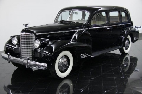 1938 Cadillac Series 9023 Fleetwood V-16 Seven Passenger Touring Sedan for sale