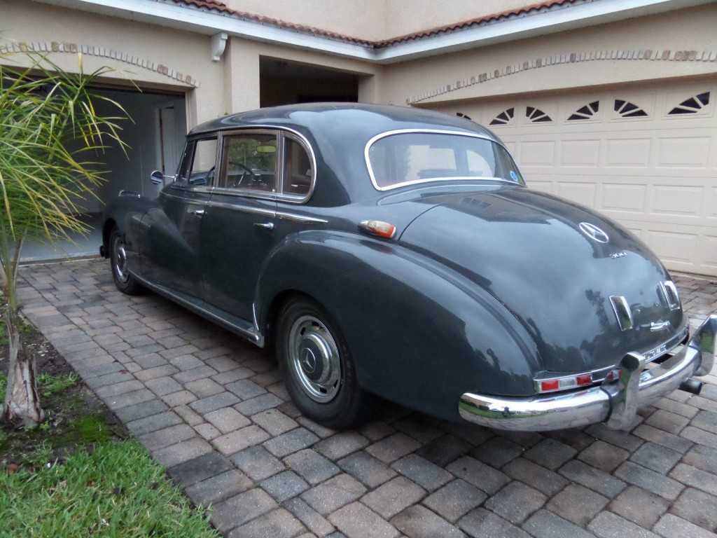 1957 mercedes benz 300c automatic w186 adenauer for sale for Mercedes benz 300c