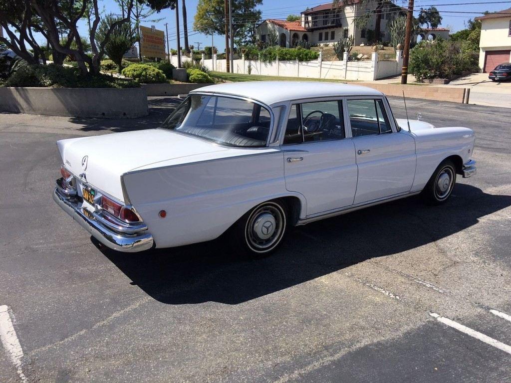 1964 mercedes benz 220s sedan tailfin for sale for Mercedes benz 4 sale