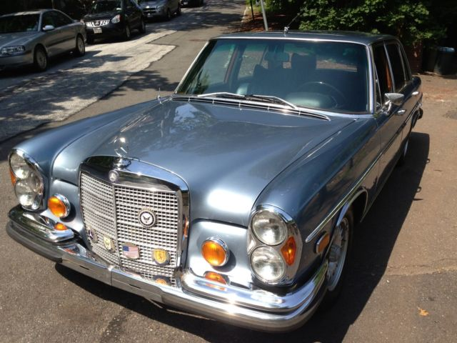 1968 mercedes benz 300 sel 6 3 for sale for Mercedes benz 6 3