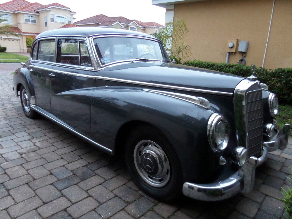 1957 mercedes benz 300c automatic w186 adenauer for sale. Black Bedroom Furniture Sets. Home Design Ideas