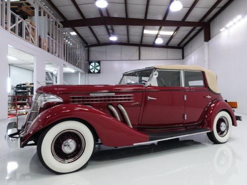 1936 Auburn 852 Supercharged Phaeton for sale