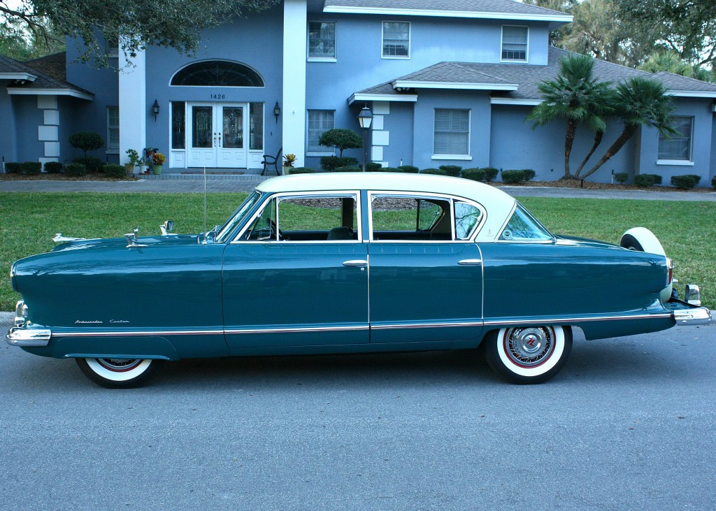1954 Nash Ambassador Sedan For Sale