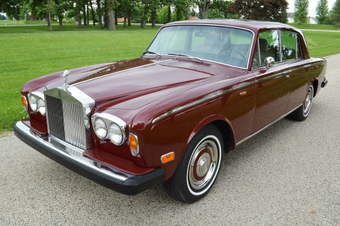 1973 Rolls Royce Silver Shadow sedan for sale