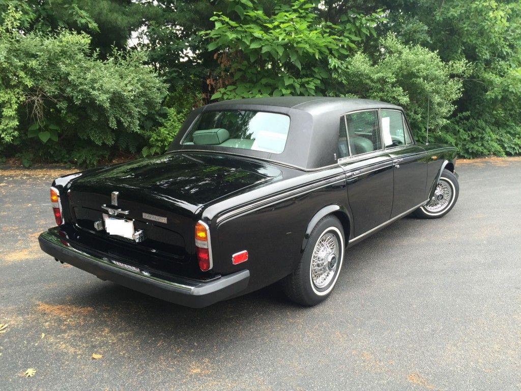 1980 Rolls Royce Silver Wraith II Sedan