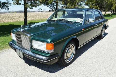 1987 Rolls Royce Silver Spirit Sedan for sale