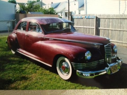 1946 Packard Super Clipper Maroon for sale