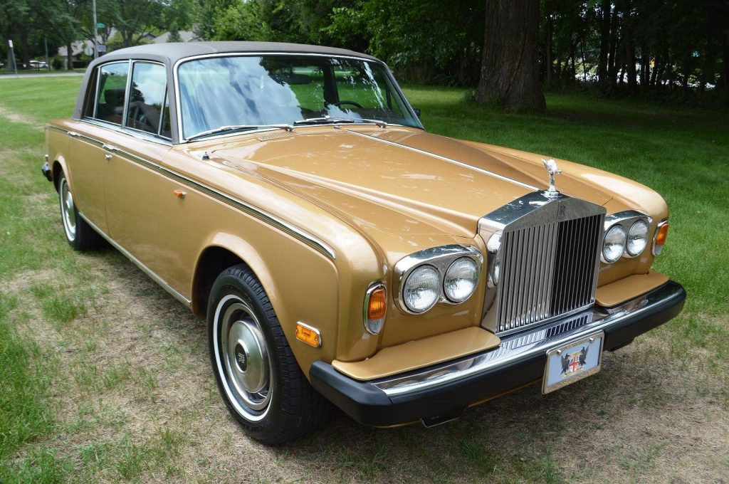 Honey Gold 1979 Rolls Royce Silver Shadow Wraith II