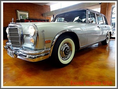 1969 Mercedes Benz 600 Series SWB 600 for sale