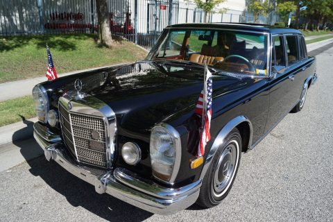 Extremely rare 1972 Mercedes Benz 600 Series Leather for sale