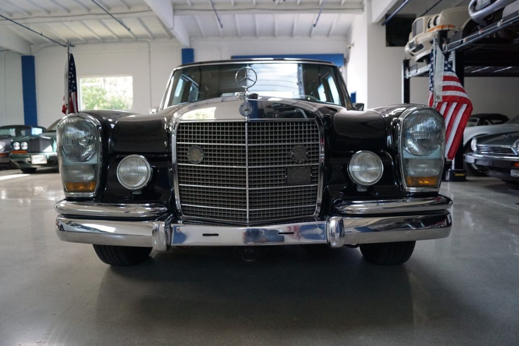 Extremely rare 1972 Mercedes Benz 600 Series Leather