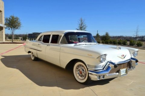 1957 Cadillac Series 75 Fleetwood LIMOUSINE – Runs Fantastic! for sale