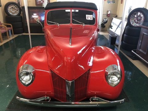 1938 Ford Cabriolet – Runs Great, Looks Great for sale