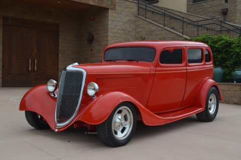1934 Ford Sedan – Supercharged for sale
