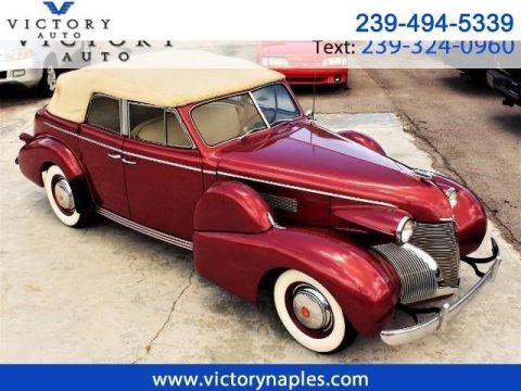 BREATHTAKING 1939 Cadillac Series 61 Convertible Sedan for sale