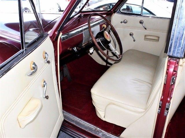 BREATHTAKING 1939 Cadillac Series 61 Convertible Sedan