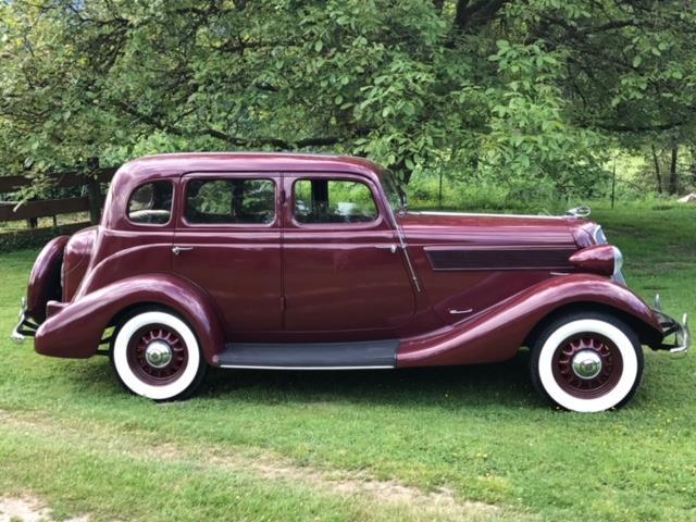 VERY RARE 1935 Studebaker Dictator Suicide Sedan