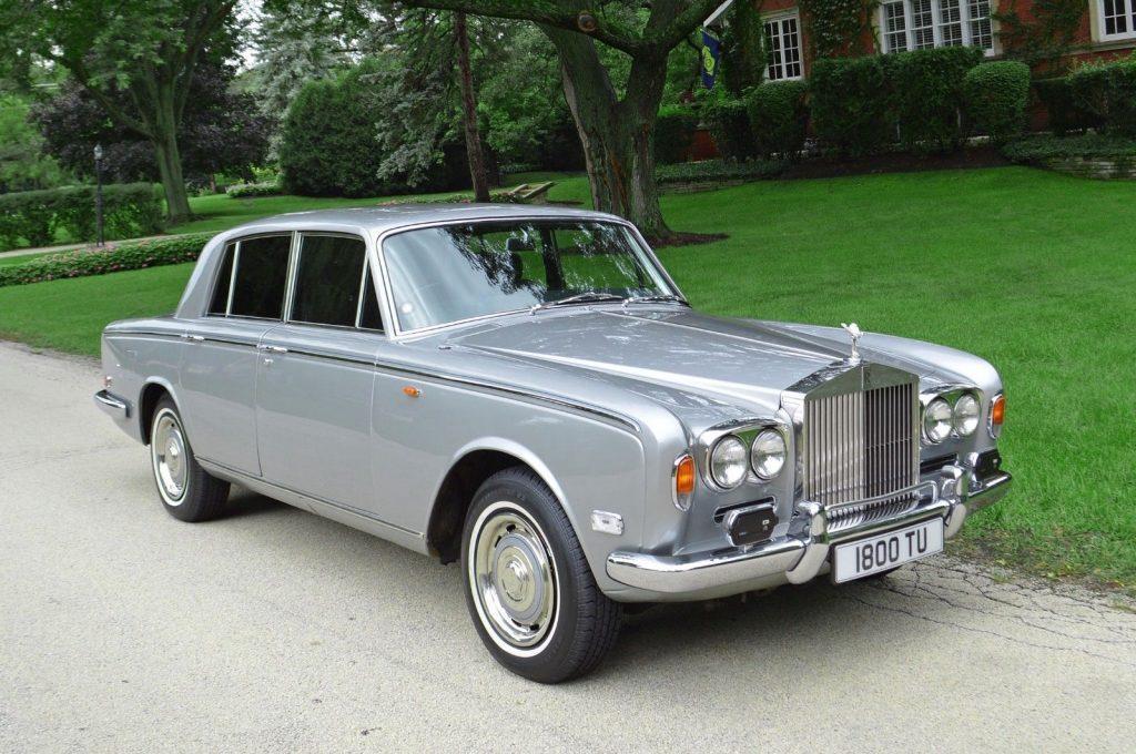 SPECTACULAR 1971 Rolls Royce Silver Shadow