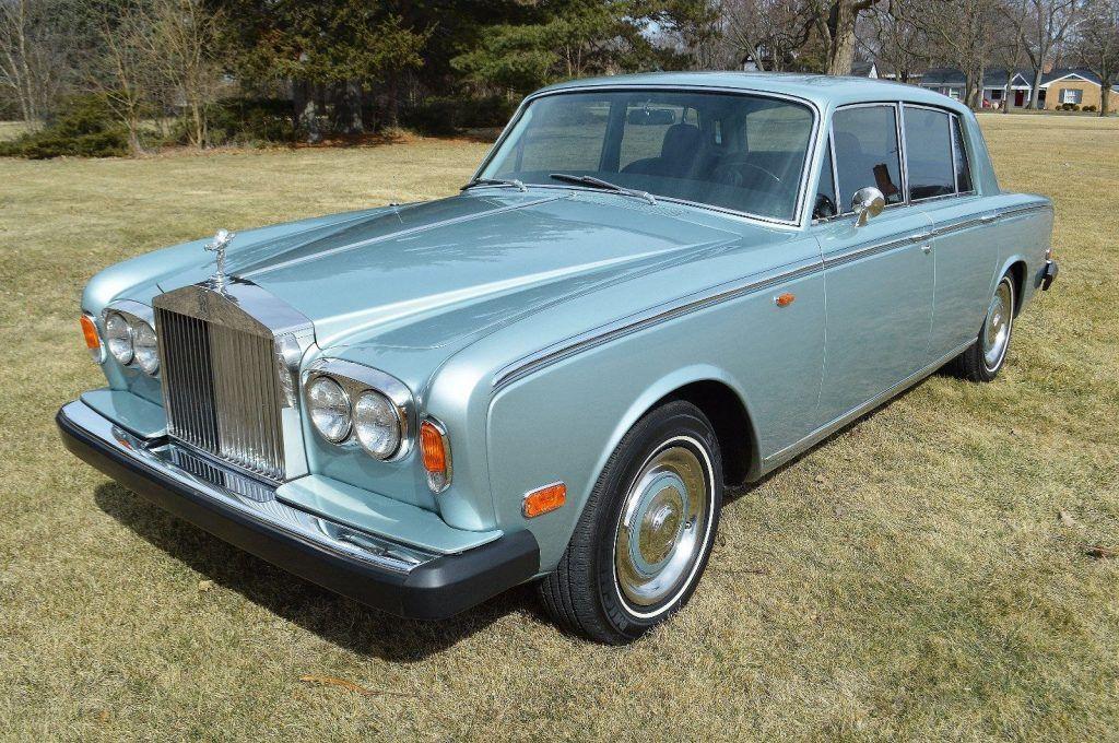 STUNNING 1973 Rolls Royce Silver Shadow